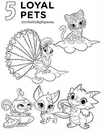 Nick Jr Thanksgiving Coloring Pages With Wanted Shimmer And Shine
