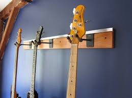 wall mount slatwall guitar rack hanger