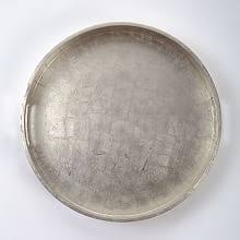 Round Silver Decorative Tray Decorative Trays west elm 2
