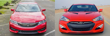 Head to Head: 2016 Honda Accord Coupe vs. 2016 Hyundai Genesis ...