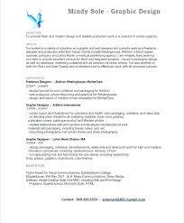 Sample Design Resume Graphic Design Resume Sample Sample Graphic ...