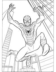 Small Picture Spiderman Color Pages Printables Archives In Spiderman Printable
