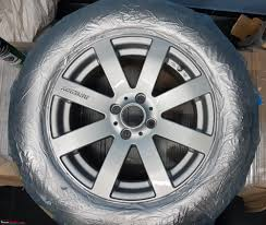 diy painting alloy wheels with spray cans clear jpg