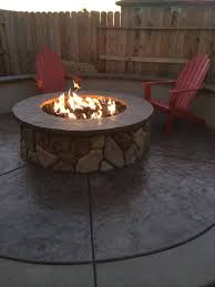 fireplace - How can I get my gas fire pit to have a larger flame ...