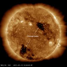 The sun's corona is the outermost part of the sun's atmosphere. Holes In The Sun S Corona In 2 D 3 D And Video Universe Today
