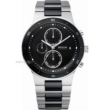 "ceramic watches watch shop comâ""¢ mens bering ceramic chronograph watch 33341 742"