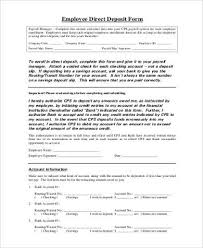 Payroll Direct Deposit Form Beautiful 12 Payroll Authorization Form ...