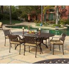 brown set patio source outdoor. Charleston 7 Piece Oval Dining Set By Buy Now Or Never. $2599.00. Antique Brown Patio Source Outdoor