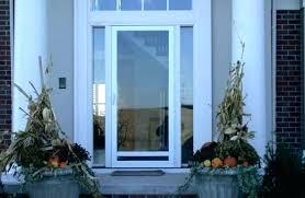 pella screen door repair storm door all glass storm door close up of home with storm