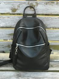 Black Designer Backpack Us 67 15 15 Off Kafunila Designer Backpack Women Black Genuine Leather Backpack Fashion School Bag Female Travel Shoulder Bag Bolsas Mochila In