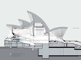 the sydney opera house designed by jorn utzon