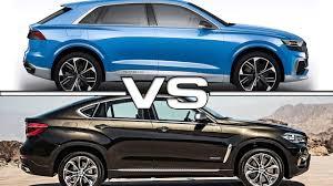2018 bmw x6. fine 2018 2018 audi q8 concept vs 2016 bmw x6 to bmw x6