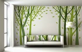 living room natural beige wall paint
