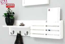 White Coat Racks Wall Mounted Wonderful Coat Shelf Drifted Gray Wall Mounted Coat Rack Coat Shelf 83
