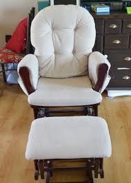cushion rocking chair nursery amazing cozy covers for editeestrela design diy top inside 8