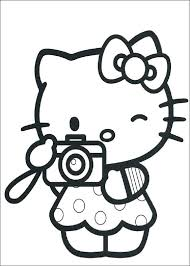Coloring Pages Hello Kitty Coloring Pages Full Size For Kids