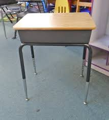 school desk with storage cubby with regard to elegant house used school desks ideas