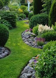 garden edging fence. Rock Garden Edging Ideas Fence