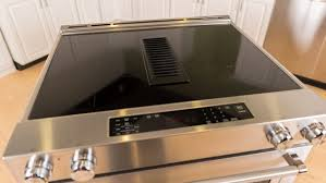 stove with downdraft vent.  Downdraft KitchenAid KSEG950ESS Review Downdraft Vent Quick Cooking Make For An  Impressive Oven With Stove Vent I