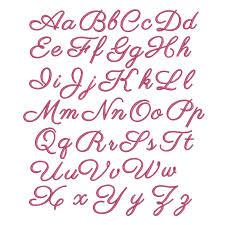victoria script font embroidery