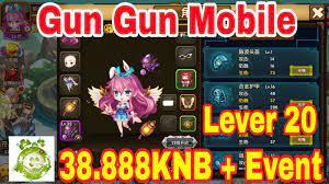 Game Gun Gun Mobile | Android & IOS | Free Lever 20 – 38.888KNB + Vô Số Quà  Tân Thủ Giá Trị - Lopte Game ViP