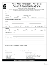 Safety Report Template Examples Of Internal Audit Reports Food