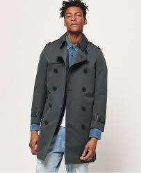 mens premium director trench coat