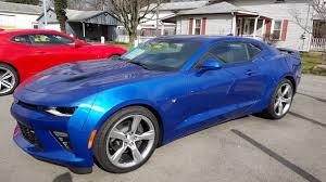 2016 Chevrolet Camaro SS Hyper Blue for Mark - YouTube