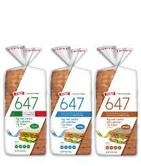 Schmidt 647 Bread With 6 Net Carbs 40 Calories 7 Grams Of Fiber