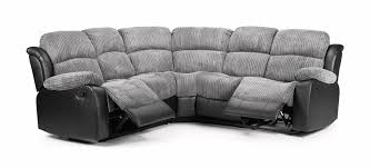 corner sofas with recliners. Fine With California Recliner Corner Sofa  Grey Black PACE LONDON LTD Throughout Sofas With Recliners K