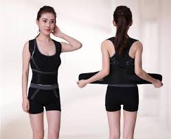 Neoprene Back Posture Support for Men Women Corset Brace Correction Corrector Belt Release Pain