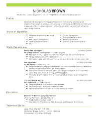 Generic Resume Resumes Summary Cv Template Uk Pdfeneral Practitioner