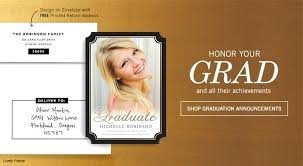 Amazing Graduation Announcement Cards With Design Picture