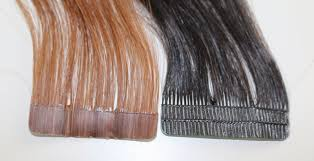 skin weft mesh vs pu tape hair extensions rogue