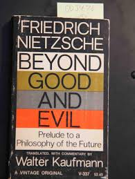beyond good and evil by nietzsche first edition abebooks