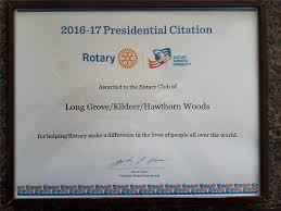 Club Earns Prestigious Rotary Presidential Citation Rotary Club Of