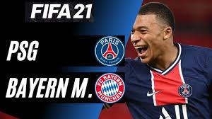 Paris Saint Germain - Bayern Monaco #RITORNO #fifa #gameplay #neymar  #mbappe - YouTube