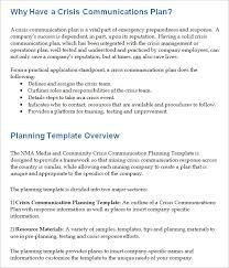 crisis management plan example crisis communication plan template 4 free word documents download