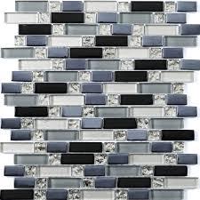 ripple random glass mosaics