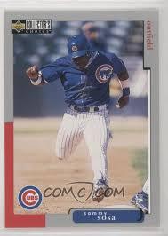 Www.pinterest.com 21x sammy sosa rookie cards 1990 topps fleer bowman donruss score baseball *a7: 1998 Upper Deck Collector S Choice Base 330 Sammy Sosa