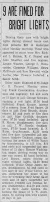 March 23, 1943 Mae Griffith Drunkindess - Newspapers.com