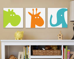 animal faces canvas wall art for nursery awesome colorful silhouette babies bedroom hanging on colorful wall art for nursery with wall art designs canvas wall art for nursery diy nursery canvas art