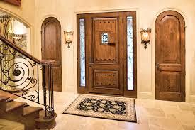 exterior door all panel fiberglass knotty