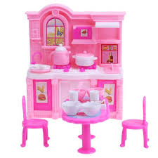 Barbie dollhouse furniture sets Homemade Barbie Furniture Sets Dollhouse Kitchen Simulation Barbie Furniture Set Dining Table Cabinet For Barbie Dolls Accessories Waldobalartcom Barbie Furniture Sets Timothygrossmaninfo