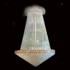 40 lamp crystal chandelier