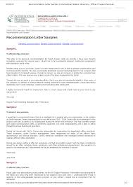 Format Recommendation Letter For Job Templates At