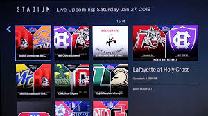 first look stadium 24 7 free sports on roku
