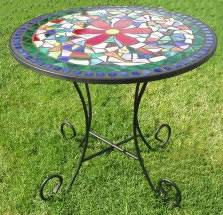 flower mosaic bistro table mosaic bistro table b29
