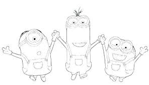 Minion Coloring Pages Ideas Minions Coloring Pages Pdf And Minion