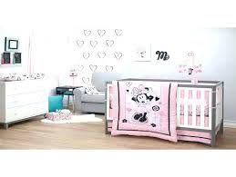 baby nursery minnie mouse baby nursery infant bedding set room what makes crib girl